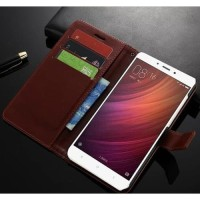 Xiaomi Redmi 5 Plus - Flip Cover Wallet Leather Case Casing Dompet