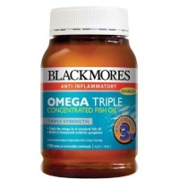 Jual Blackmores Omega Triple odourless concentrated fish oil IMPORT Murah