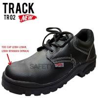 Track TR02 Lace Sepatu Safety Shoes Tali Murah Pabrik Proyek Antislip