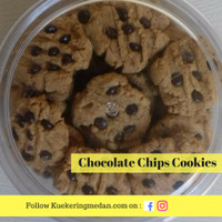 Kue Chocolate Chips Cookies
