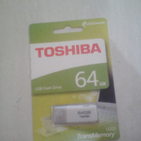 Flashdisk Toshiba 64 GB ori 99% pc komputer laptop