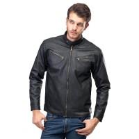 baru jaket kulit pria jaket semi kulit jaket motor jaket touring SZK