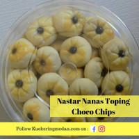 Kue Nastar Nanas Toping Choco Chips