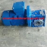 Harga nmrv 75 ratio 1 100 c w motor 1hp 3phase 380v 1400rpm | Pembandingharga.com