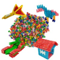 Lego Indonesia Roket Mini New Edition mainan bongkar pasang edukatif