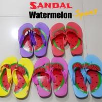 Sandal Jepit Anak Perempuan Spon Watermelon