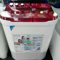 PROMO MESIN CUCI SHARP ES-T1090VL DOLPHIN 10 KG