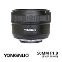 Lensa Yongnuo Nikon Afs 50mm f1.8 YN 50mm f1.8 Nikon Lensa Fix Nikon