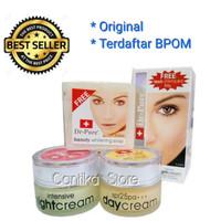 """Paket Lengkap Cream Pemutih Wajah Original & BPOM """"DR-PURE"""""""