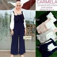 Model baru Jual baju muslim / Grosir jumpsuit murah wanita / carmela