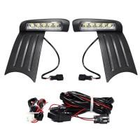 OTOmobil Lampu DRL Fog Lamp Honda Jazz 2012 Aksesoris Mobil Modifika