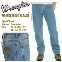 promo celana jeans standar wrangler celana panjang pria