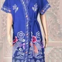 Daster Kimono Batik Kencana Ungu / Ukuran All Size D ( Daster )
