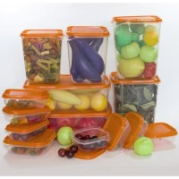 Jual Ikea (R) - Pruta - Container Food Set Of 17 Bpa Free - Lunch Box Asli Murah