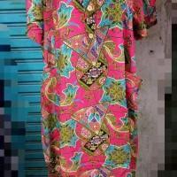 Daster Daster Batik Jumbo Kencana Ungu (Premium)