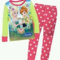 Baby Gap Pajamas - Frozen Pink Polka / Baju Tidur Piyama Frozen Anak