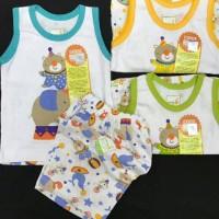Baju bayi 3 stel kutung velvet playfull  size S,M,L usia 3-12 bulan