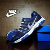 Jual sepatu sport nike airmax badminton navy / sepatu olahraga pria  Murah