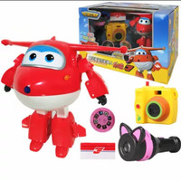 MAINAN ANAK ACTION FIGURE SUPER WINGS JETT W TOOLS  ORI AUDLEY