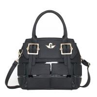TAS HAND BAG TOTE IMPORT WANITA BLACK FASHION
