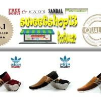 Free Sale !!! Sepatu Slipon Murah Adidas Holiday Kulit Suede Terlaris