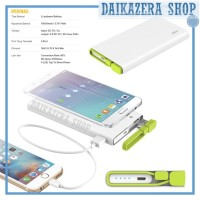 Hame X2 Power Bank 2 Port USB 10000mAh - HAME-X2