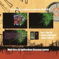 Garskin Laptop Lenovo 20404 14 inchi motif Razer - motif bisa request