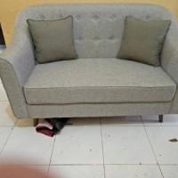 Sofa Dua Dudukan Modern Minimalis Shaby Chic (kursi sofa, sofa retro,