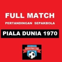 West Germany vs England - 1/4 Final Piala Dunia 1970