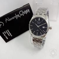 Jam Tangan Wanita Alexandre Christie Ac8558 stainlest Original
