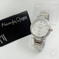 Jam Tangan Wanita Alexandre Christie Ac2710 Combi Original