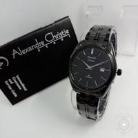 Jam Tangan Wanita Alexandre Christie Ac8558 Black Original