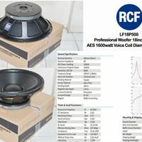 RCF LF18P500 woofer untuk Audio Sound System