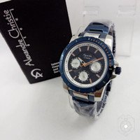 Jam Tangan Wanita Alexandre Christie Ac6141 BLUE Original