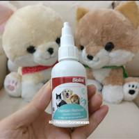 dog cat tear stain remover bioline / pembersih mata anjing kucing