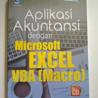 Buku aplikasi akuntansi dengan Microsoft Excel vba (macro)
