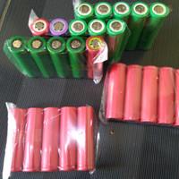 baterai bekas laptop ex 18650 powerbank senter swat police LG Sanyo