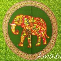 mandala gajah aster kain pantai tapestry multifungsi sarung bali