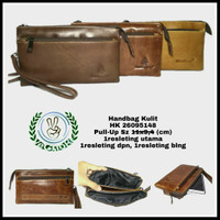 Harga dompet tas handbag pria wanita kulit sapi alsi hush puppies | WIKIPRICE INDONESIA