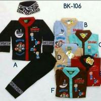 Baju Muslim Koko Anak 2-4 tahun / Baju Koko Anak / Baju Lebaran / Kok