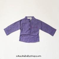 Zara Baby stripe blue shirt / Baju anak laki-laki