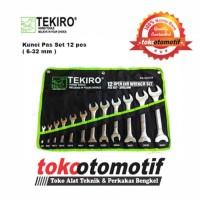 Kunci Pas Set TEKIRO 12 pcs (uk. 6 x 7 mm s/d 30 x 32 mm )