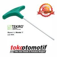 Kunci L Model T 2.5 mm TEKIRO Japan