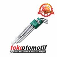 Kunci L Set Panjang 8 pcs 2-10 mm TEKIRO