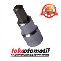 "Hex Bit Socket Pendek - 1/2"" - 4 X 55 mm WIPRO"