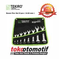 Kunci Pas Set TEKIRO 8 pcs (uk. 6 x 7 mm s/d 22 x 24 mm )