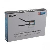 DLINK DWA-548 WIRELESS N 300 PCI EXPRESS DESKTOP ADAPTOR