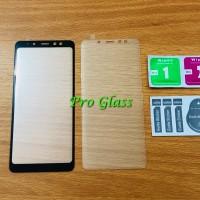 Samsung A8+ / A8 PLUS FULL COVER Magic Glass Premium Tempered Glass
