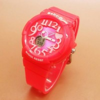 Jam Tangan Wanita Casio Baby G BAG134 PINK Super Murah
