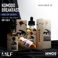 Jual Komodo Breakfast - Kiss Of Death By MILF Premium Liquid Murah